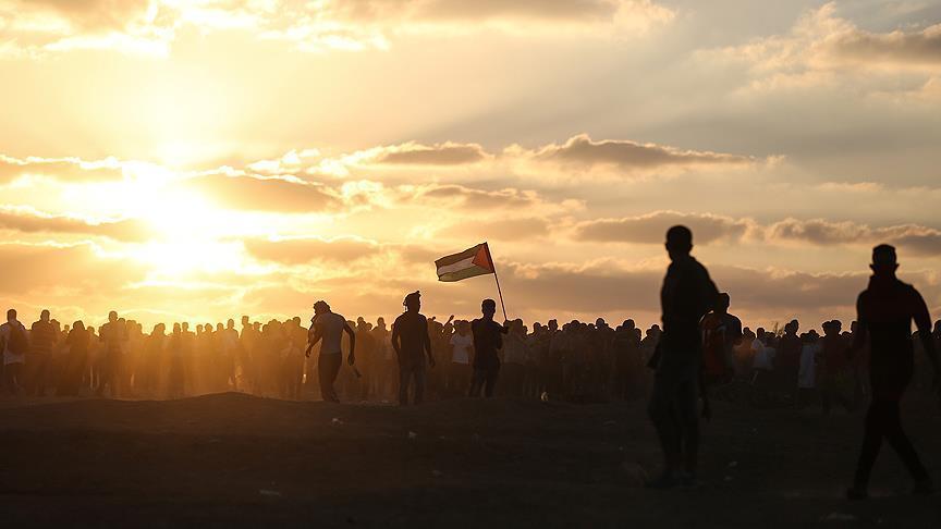 1 Warga Palestina Gugur dan 14 Terluka dalam Serangan Israel pada Aksi Damai