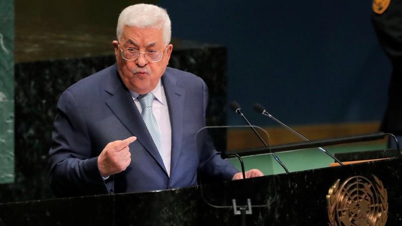 Abbas Bantah Keras Israel dan AS di Majelis Umum PBB