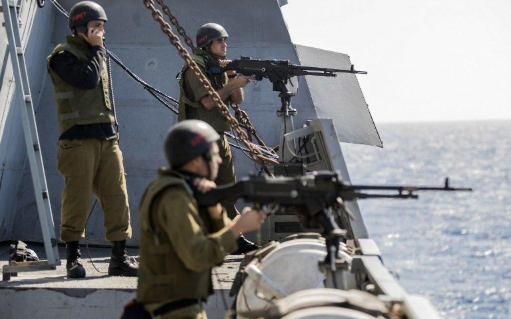 Angkatan Laut Israel Tembaki Kapak-kapal yang ke Luar dari Pantai Gaza