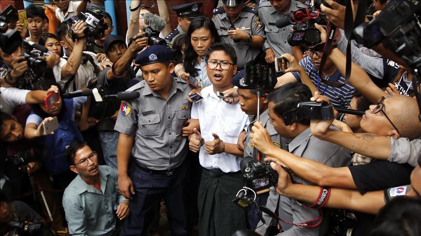 Bongkar Pembantaian Muslim Rohingya, Wartawan Reuter Ini Divonis 7 Tahun Penjara