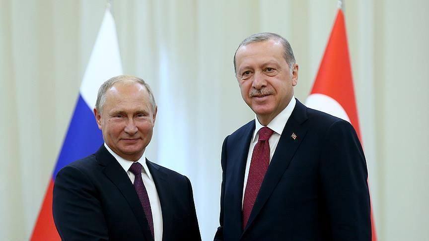 Erdogan Temui Putin di Rusia Hari ini