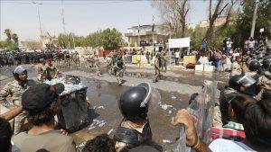 Militer Irak: Pembantaian Demonstran di Basra oleh Kelompok Tidak Dikenal