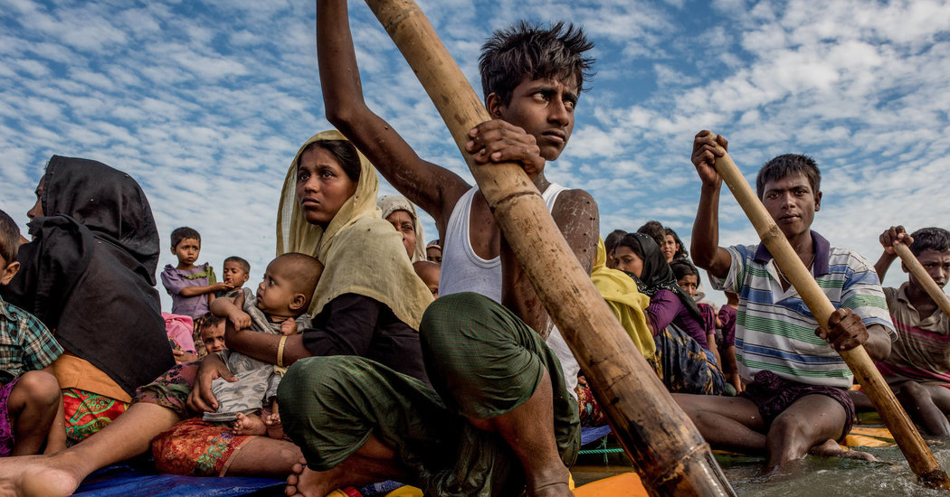 Bentrokan Militer Kembali Terjadi di Myanmar, 2.500 Warga Rohingya Larikan Diri