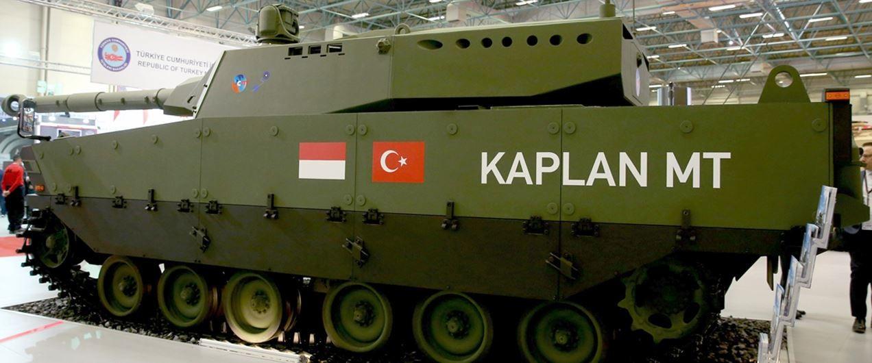 Perusahaan Pertahanan Turki dan PT Pindad Siap Produksi Massal Tank MT KAPLAN