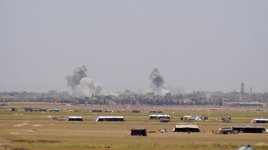 Jet-jet Tempur Rusia Mulai Gempur Warga Sipil di Idlib