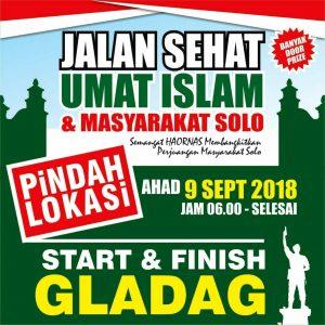 Lokasi Dipindah, Polisi Akhirnya Izinkan Jalan Sehat Umat Islam Solo