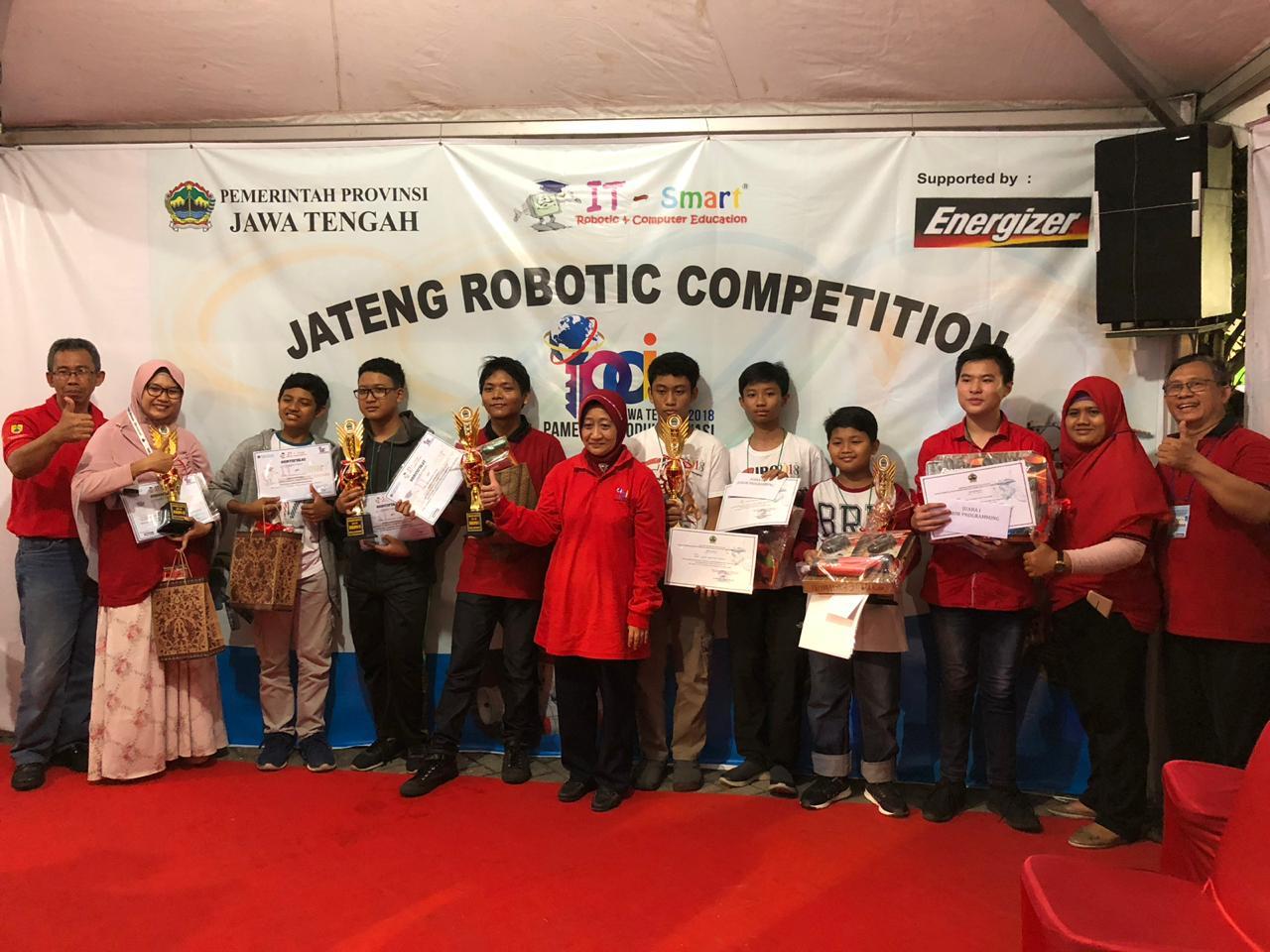 Siswa SMP Muhammadiyah Kottabarat Sabet Juara Lomba Robotik Tingkat Provinsi