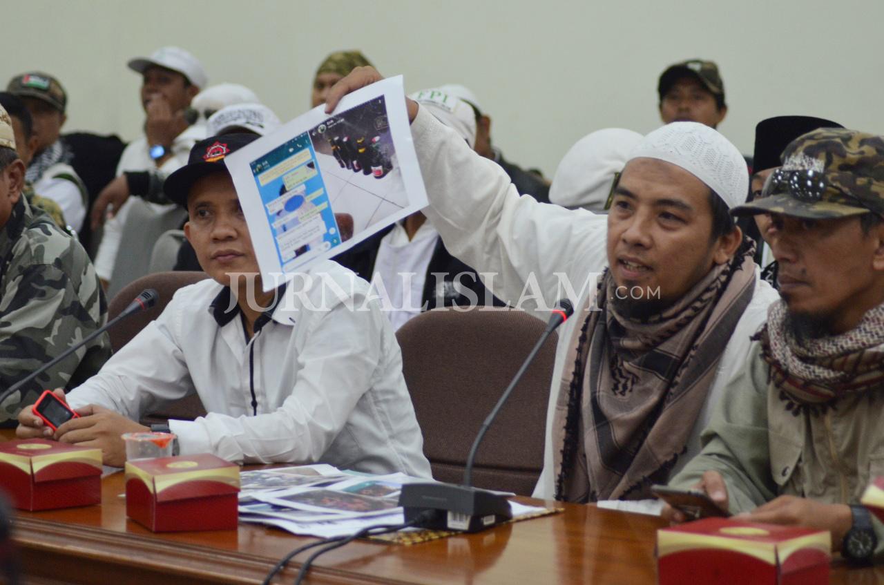 Datangi DPRD, Almumtaz Tasikmalaya Paparkan Data Pekat di Kota Santri