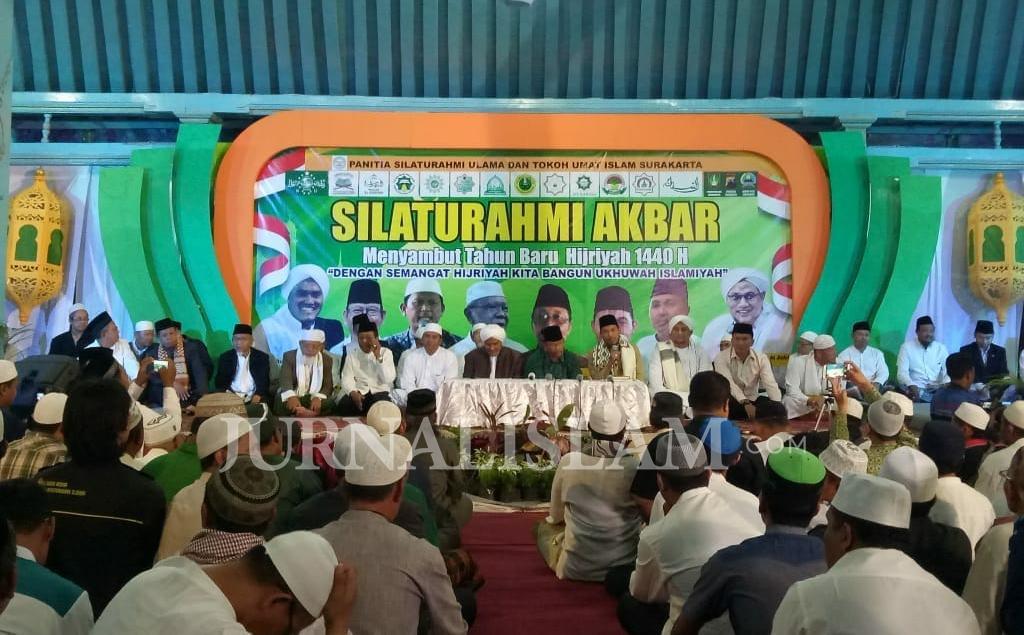Perkuat Ukhuwah, Ulama Soloraya Gelar Silaturahmi Akbar Sambut Tahun Baru Hijriyah