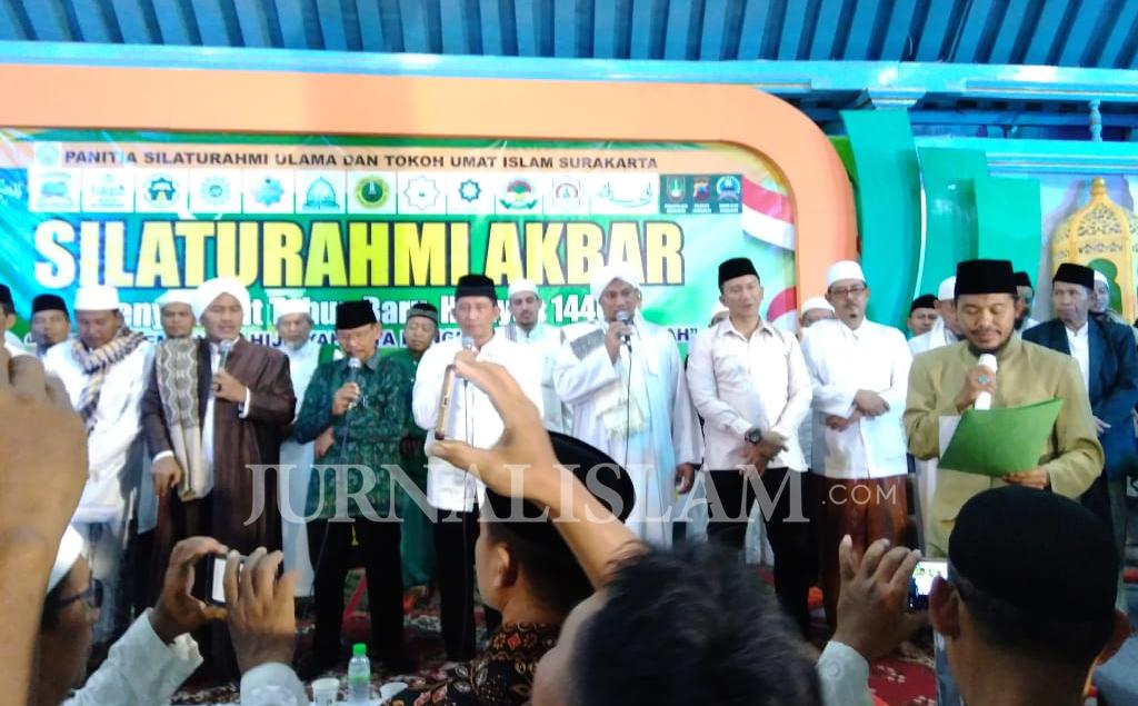 Berikut 5 Poin Resolusi Silaturahmi Ulama dan Tokoh Umat Islam Surakarta