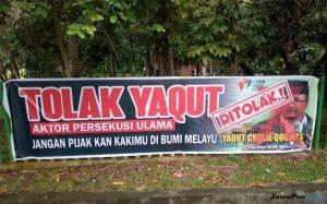 Disebut Tukang Persekusi Ulama, Yaqut Cholil Dilarang Menginjakkan Kaki di Riau