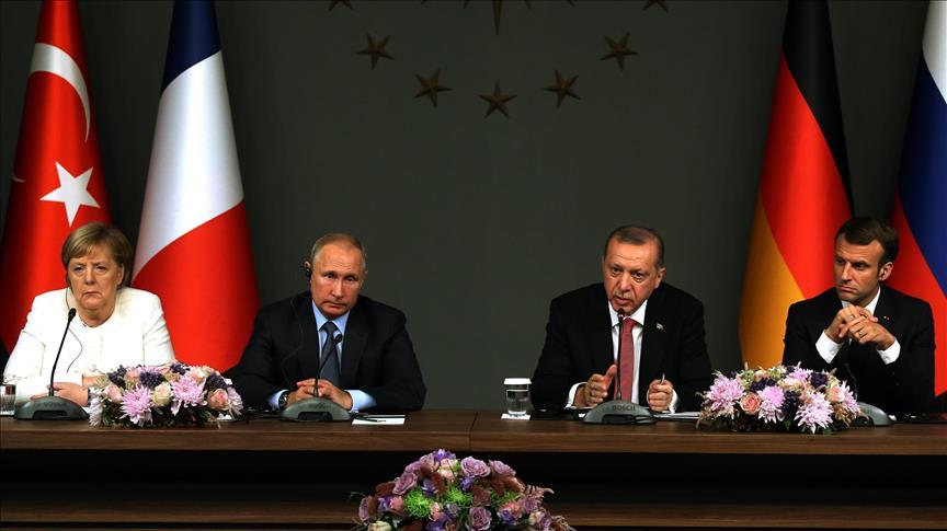 4 Negara Sepakat Akhiri Perang Suriah, Erdogan: Nasib Assad Diputuskan Rakyatnya