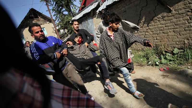 6 Warga Khasmir Tewas Dihantam Granat India saat Aksi Protes