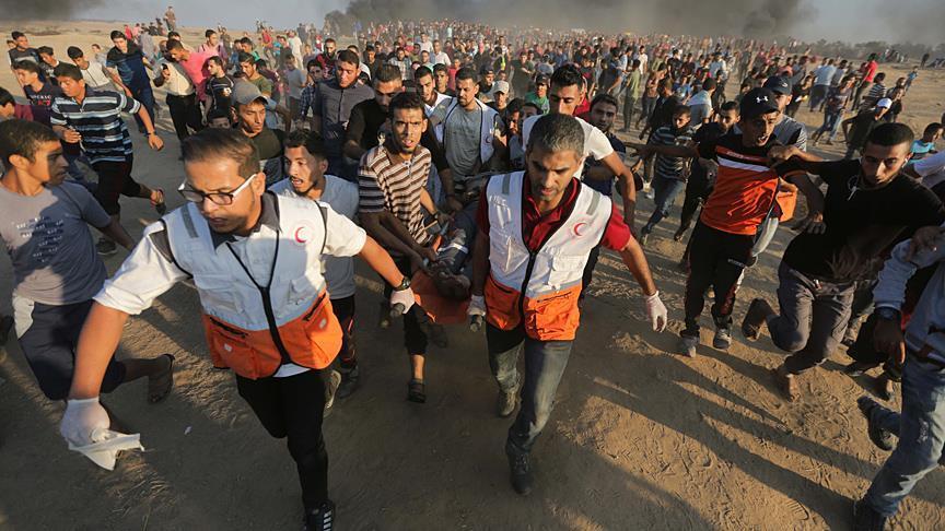 7 Warga Palestina Gugur dan 154 Lainnya Terluka Ditembaki Pasukan Israel