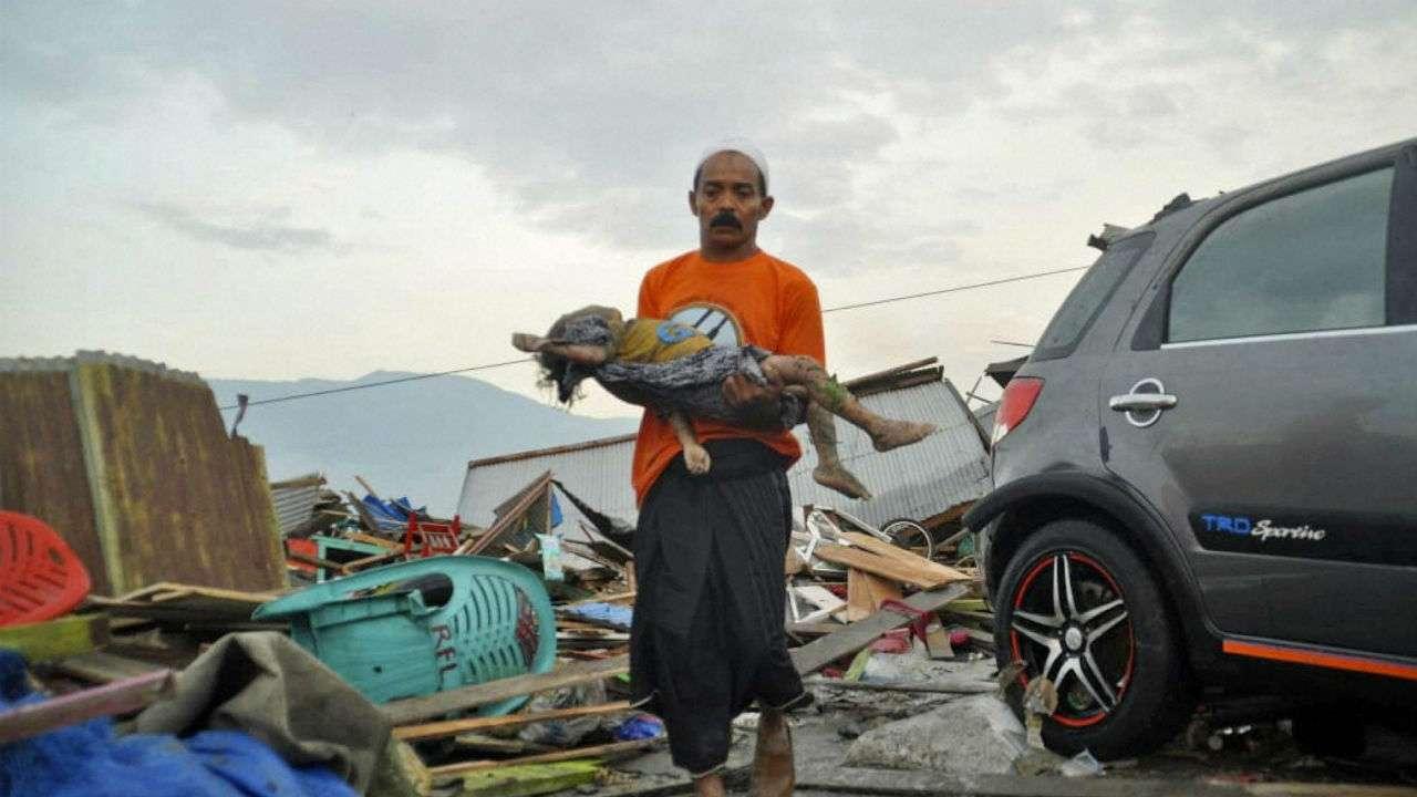 Terus Bertambah, Korban Tewas Gempa dan Tsunami Sulteng 844 Jiwa