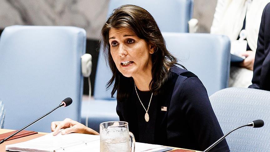 Duta Besar AS untuk PBB Nikki Haley Tiba-tiba Mengundurkan Diri