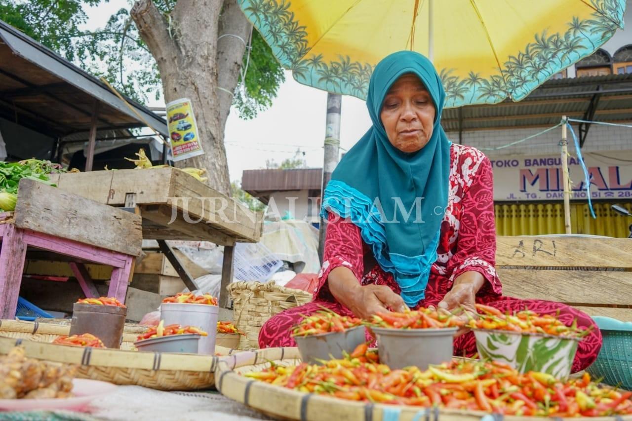 Meski Berangsur Pulih, Pedagang Pasar Kota Palu Keluhkan Turunnya Omzet
