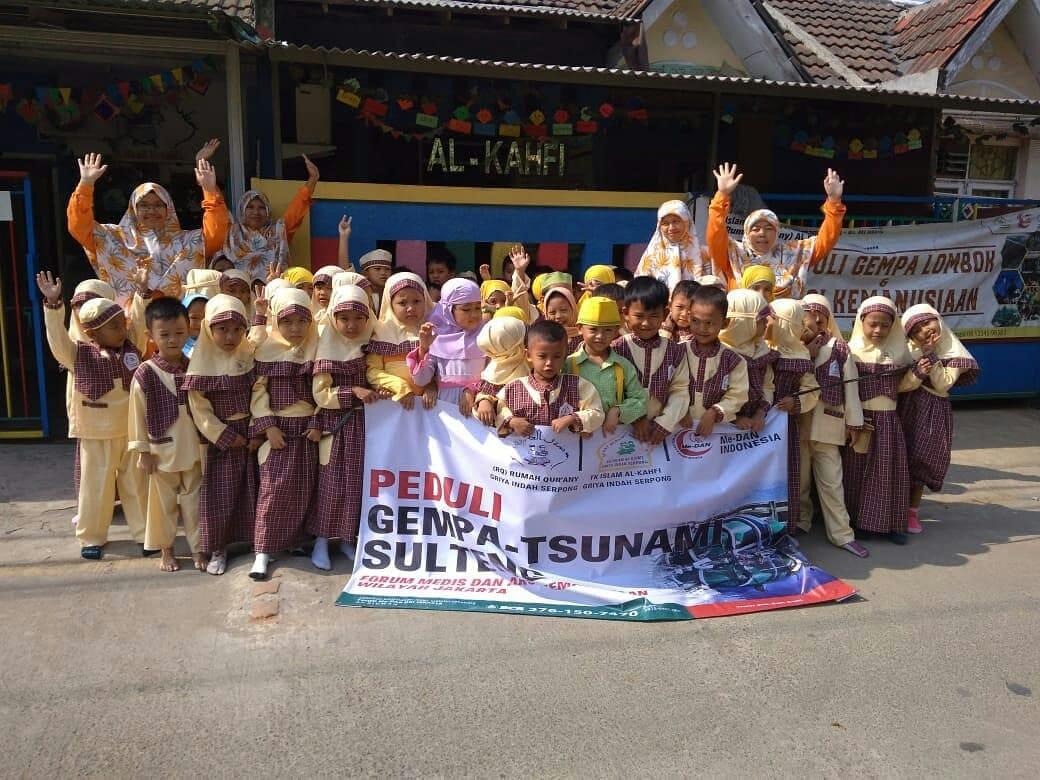 Menginspirasi, Siswa TK Islam Ini Bantu Galang Dana untuk Gempa-Tsunami Palu