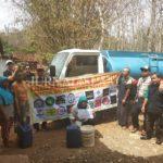 Wonogiri Dilanda Kekeringan, KONAS Bagikan 25 Tangki Air Bersih Gratis