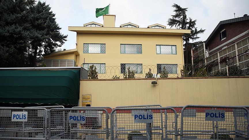Penyelidik Turki Catat Pengakuan 38 Saksi di Gedung Konsulat Saudi