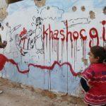 Seniman Idlib Lukis Grafiti Jamal Khashoggi sebagai Bentuk Solidaritas