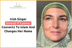 Sinead O'Connor Masuk Islam Ganti Nama Menjadi 'Davitt Shuhada'