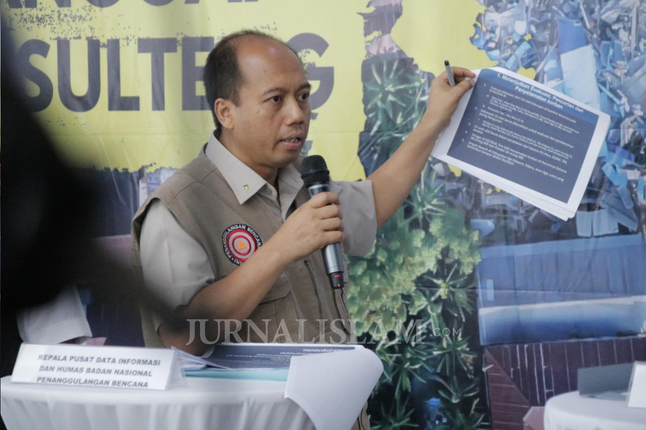 BNPB: Empat Kecamatan di Sulteng Masih Terisolasi