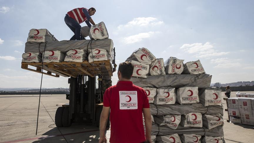 Turki Kirim Bantuan Kemanusian Sebanyak Dua Pesawat Hercules ke Palu