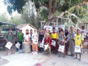 Forum Me-DAN Bantu Korban Gempa Situbondo di Pulau Sapudi