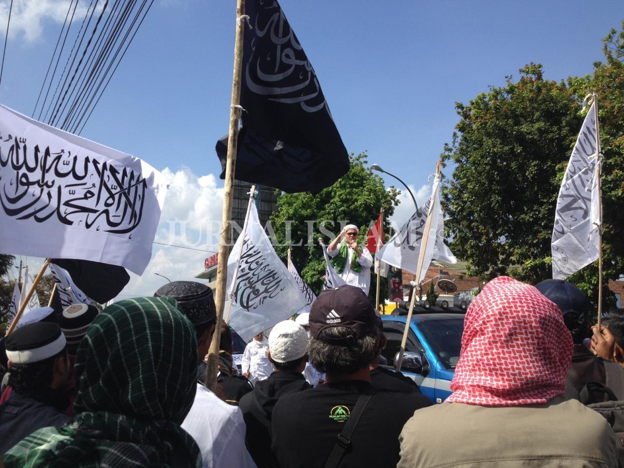 Gelar Aksi Bela Tauhid, Umat Islam Magelang Desak Kepolisian Bersikap Adil