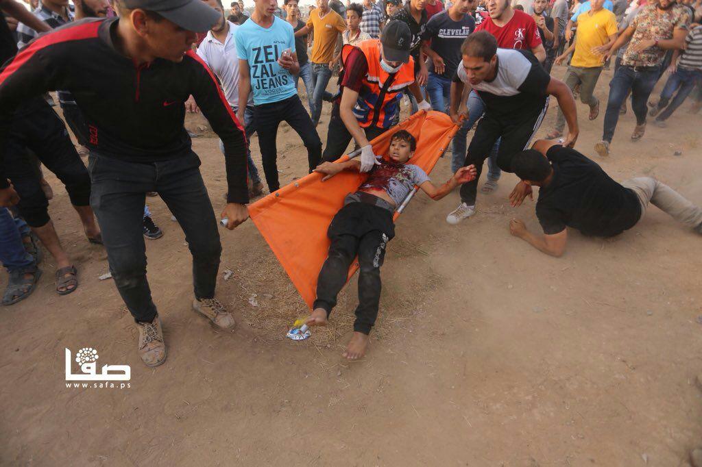"""Aksi """"Great Return March"""" Jumat ke-28, 2 Orang Syahid"""
