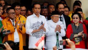 KH Ma'ruf Amin Mengaku Belum Diajak Bicara Jokowi soal Jatah Menteri