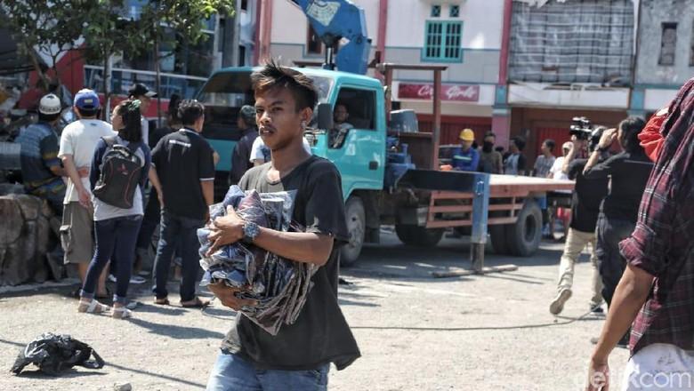 Polri Tindak Pelaku Kriminal dan Penyebar Hoaks di Lokasi Bencana
