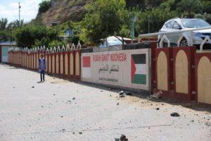 Foto Kerusakan RS Indonesia di Gaza Akibat Serangan Penjajah Israel