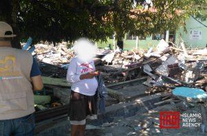 Sedang Hamil Tua, Surantina Berlari Hindari Gempa dan Tsunami