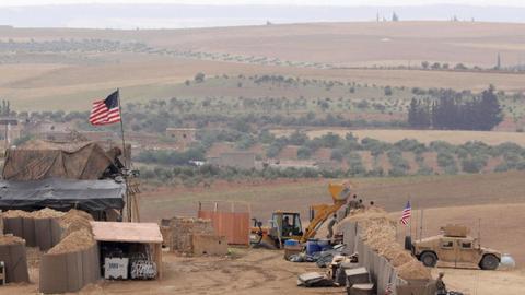 Pos militer AS di Suriah Utara