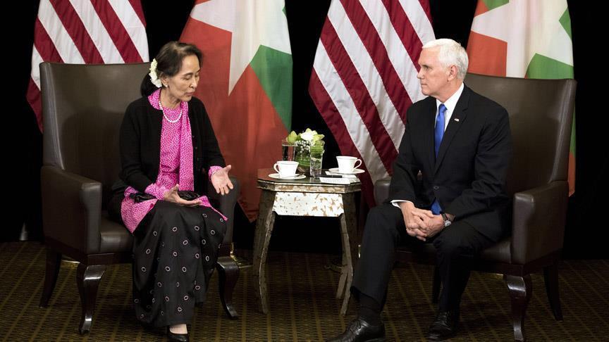 Bertemu Saat KTT Asean, Wapres AS Kritik Langsung Pemimpin Myanmar