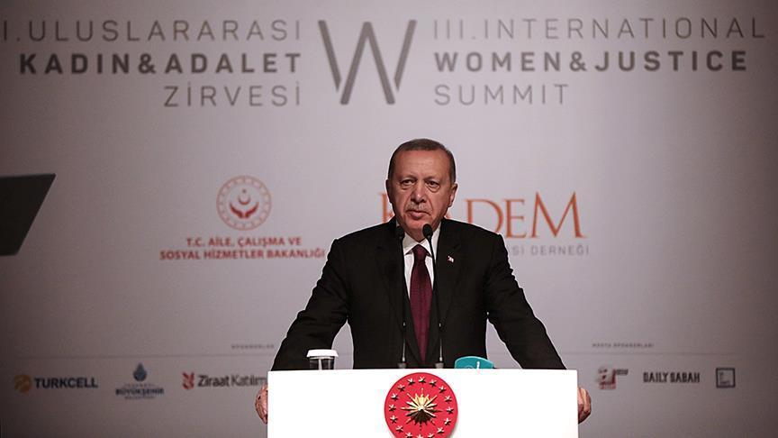 Erdogan: Wanita dalam Islam Tidak Seperti Barat yang Mengkomoditasi Perempuan