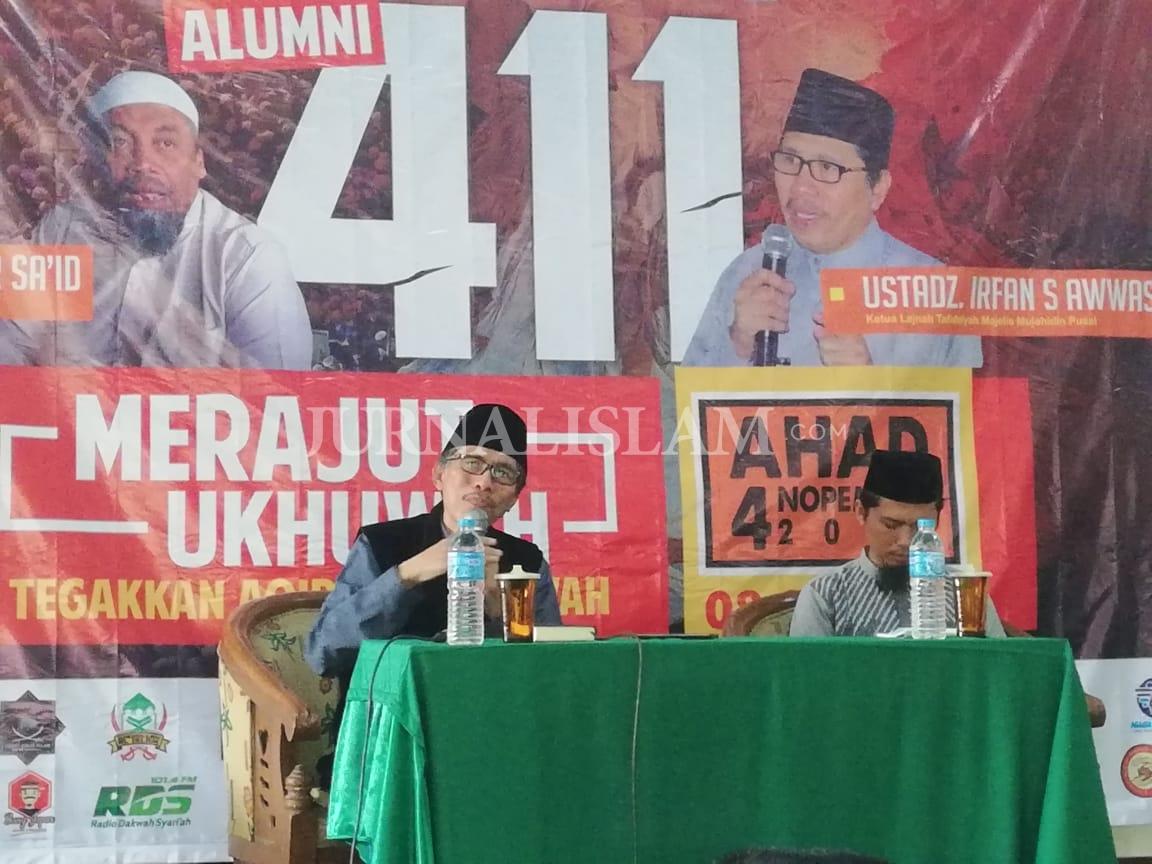 Momen 411, MMI: Indonesia Tengah 'Sakit Mental'