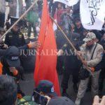 """Wow, Ada """"Pembakaran Bendera PKI"""" di Aksi 1000 Bendera Tauhid Solo"""