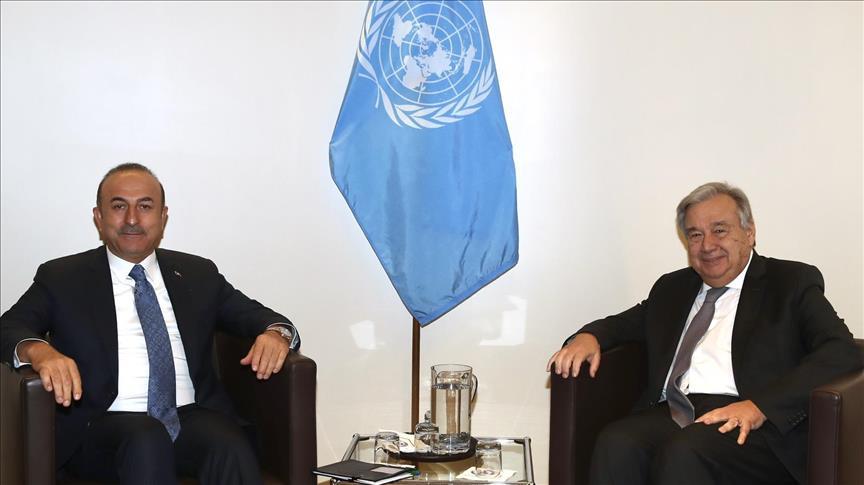 Menlu Turki Bahas Kasus Khashoggi dengan Sekjen PBB di New York