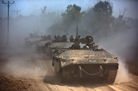 Pertempuran Meletus di Gaza, Israel Kerahkan Tank dan Pertahanan Udara Iron Dome