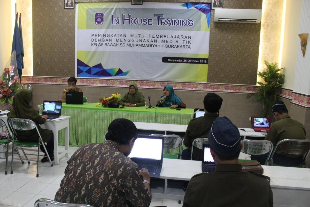 SD Muhammadiyah 1 Ketelan Surakarta Siapkan Sistem E-Learning