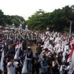 Ribuan Massa Juga Ikuti Aksi Bela Tauhid 211 di Garut