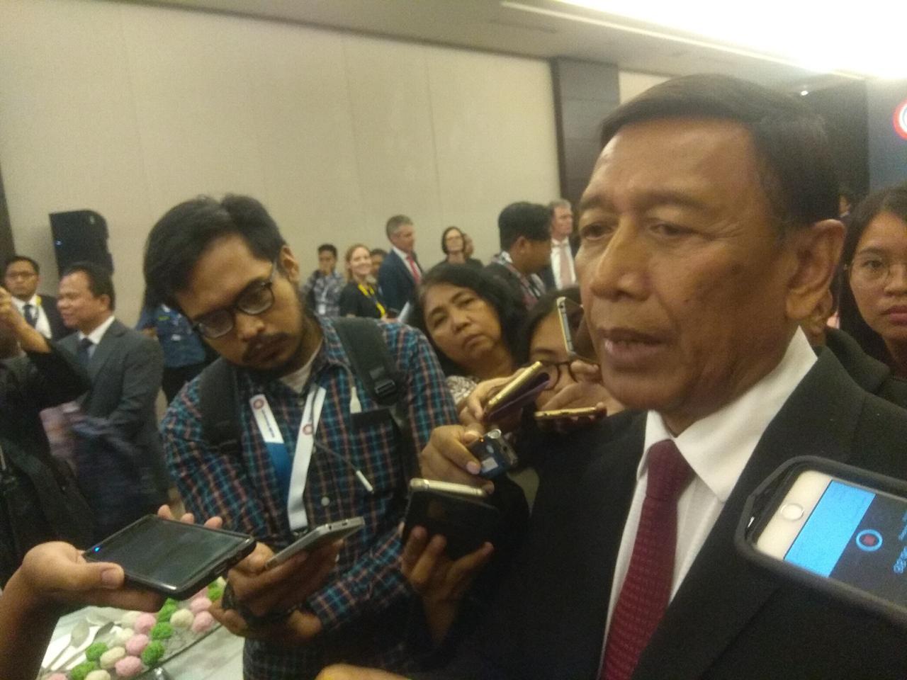 Wiranto 'Curhat' Tentang Terorisme