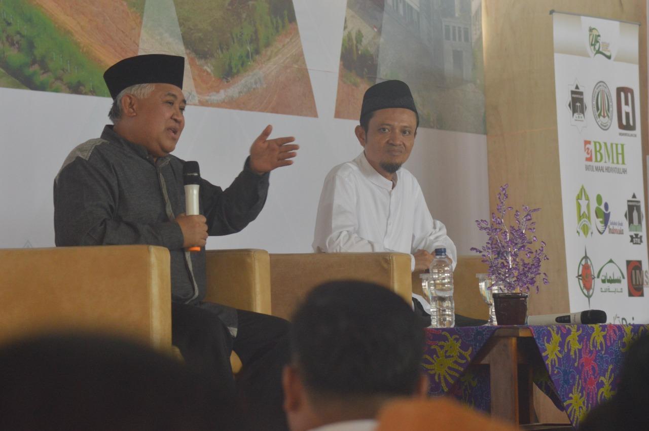 Hadir di Silaturahmi Nasional, Din Syamsuddin Puji Perkembangan Gerakan Dakwah Hidayatullah