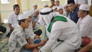 Di Hari Berkah, Dua Remaja Nias Mantap Ikrarkan Syahadat