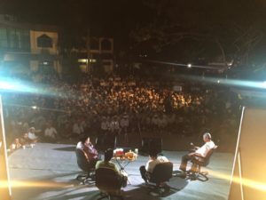 Fahri Hamzah dan Fadli Zon Ngopi Bareng Dai Hidayatullah di Arena Silatnas Balikpapan