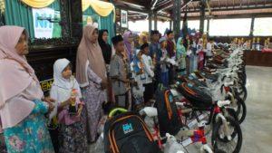 Ratusan Yatim Dhuafa Ikuti Festival Anak Soleh Yayasan Nurul Hayat di Demak
