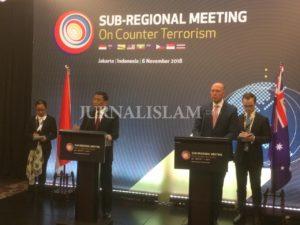 Pertemuan Sub Regional Sepakat Tangkal Terorisme di Media Sosial
